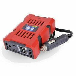 120 Watt Power Inverter, 12 Volt DC to 110 Volt AC, With Dua