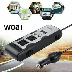 150w car power inverter with 2 ac