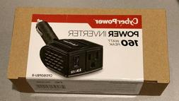 CyberPower 160 Watt Peak Power Inverter with USB and Outlet