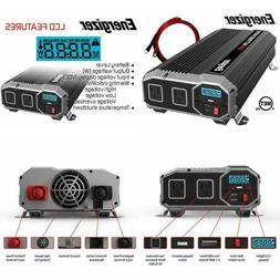 ENERGIZER 2000 Watt 12V Power Inverter Dual AC Outlets Autom