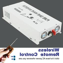 4000Watt Pure Sine Wave Power Inverter 36V to 120V with Remo