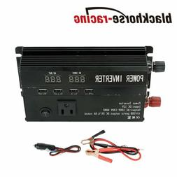 5000W 3000W Peak Car Power Inverter DC 12V To AC 110V 4X USB