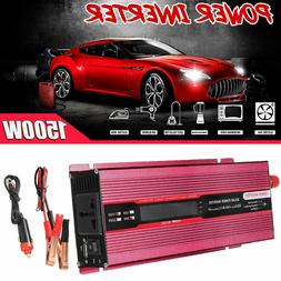 800W 1500W Car Solar Power Inverter 24V To 110V Modified Sin