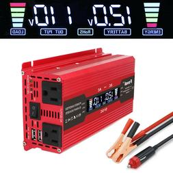 1000w 2000w Car Vehicle Power Inverter Converter DC 12v to A