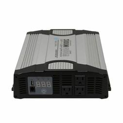 AIMS 2000 Watt Power Inverter 12 Volt with Features - Compac