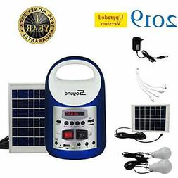 Generators Portable Solar With Panel Powered Inverter Small