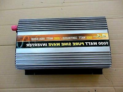 1000 watt pure sine wave power inverter