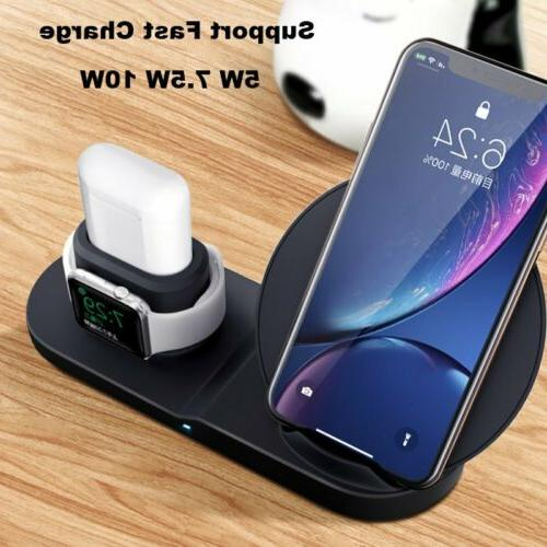 3in1 Charger Stand Apple pods iPhone X