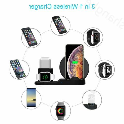 Charger Dock Apple Watch Air iPhone X Xs US