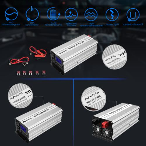 ANBULL Power Inverter Pure dc LCD
