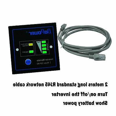 3000 Inverter to 120V AC LCD cables Truck