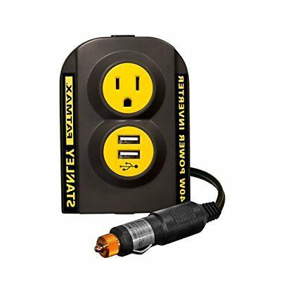Power Inverter Plug Vehicle Truck Port Charge Charger