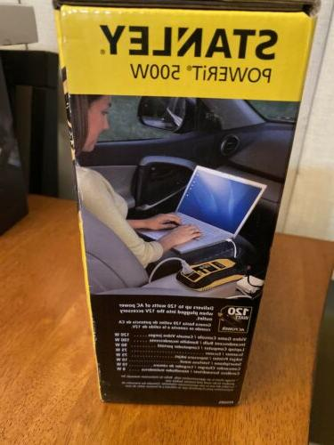 Stanley Power Inverter Charge & Use Tools New