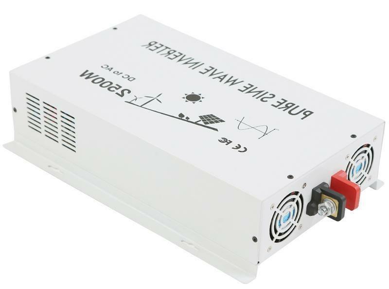 pure sine wave power inverter 2500w 24v