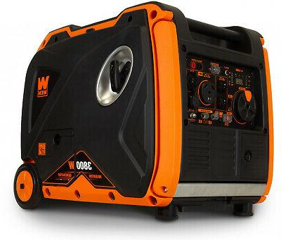 Super Portable Power Generator with Fuel Off