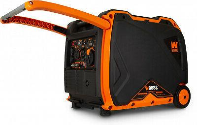 Super 3800 Portable Clean Power Generator Shut Off