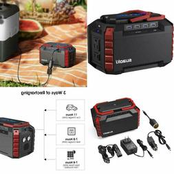 Portable Power Station 150Wh Quiet Supply Generator USB Port