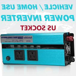 Power Inverter 1500W Modified Sine Wave For Electronics Char