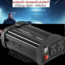 Pro 1000W Car Power Inverter DC 12V To AC 110V Charger Conve
