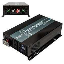 Reliable 3000W High Efficiency Pure Sine Wave Solar Power In