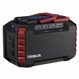 Suaoki S270 Portable Power Station 150 WH Quiet Gas Camping